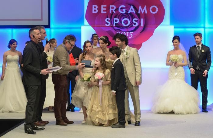 Bergamo Sposi, alcune immagini della gara