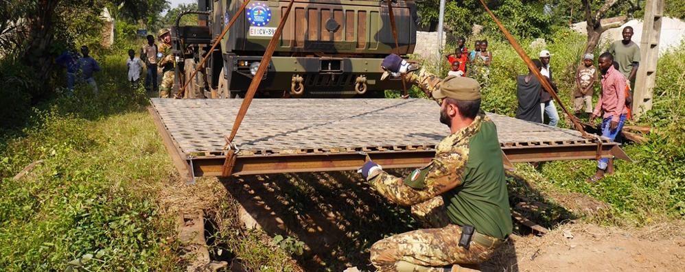 Alpini,  missione compiuta in Centrafrica con il caporal maggiore bergamasco