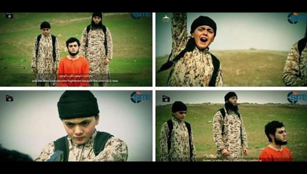 Isis:francese il bambino 'boia' in video