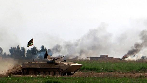 Soldati Iraq entrano a Tikrit,feudo Isis