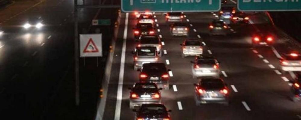A4 chiusa tra Agrate e Cavenago dalle 22 di sabato alle 6 di domenica