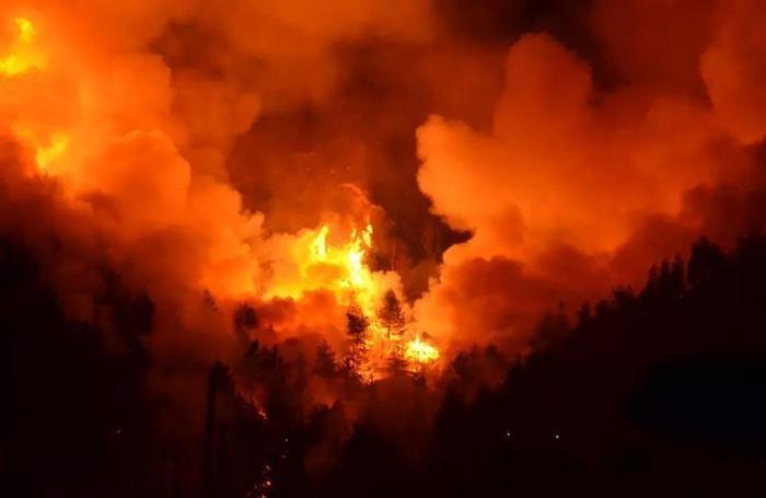 L'incendio di Clusone