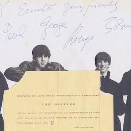 La fiera del disco di Bergamo celebra i Beatles e i 50 anni di «Help!»