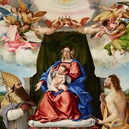 La Pala di Santo Spirito all'Ermitage Il dipinto  di Lotto  nel gotha mondiale