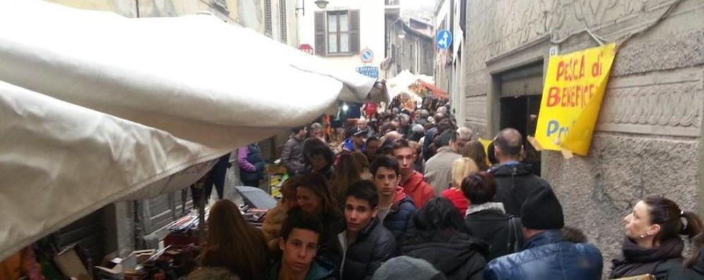 Gandino batte i meteorologi:  in 10 mila alla Fiera di San Giuseppe