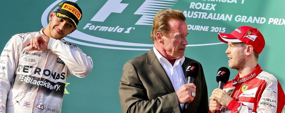 Mercedes imbattibile a Melbourne Vittoria di Hamilton, Vettel è terzo