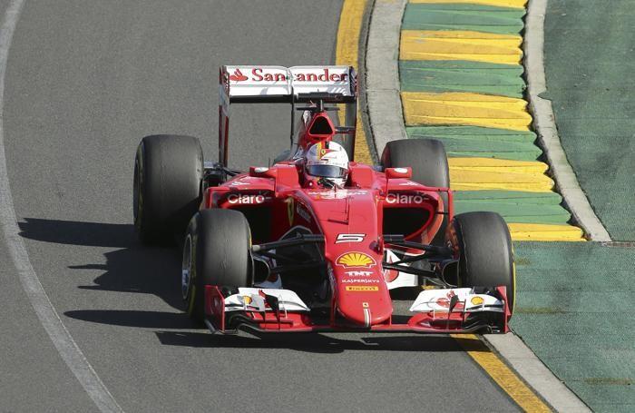 Sebastian Vettel a Melbourne