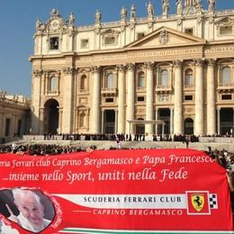 Da Caprino in Vaticano: il Papa  socio del Ferrari Club - le foto