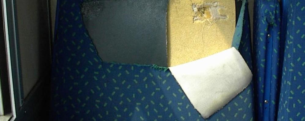 Vandali, i danni  costano 8 milioni all'anno Forze dell'ordine gratis sui treni lombardi