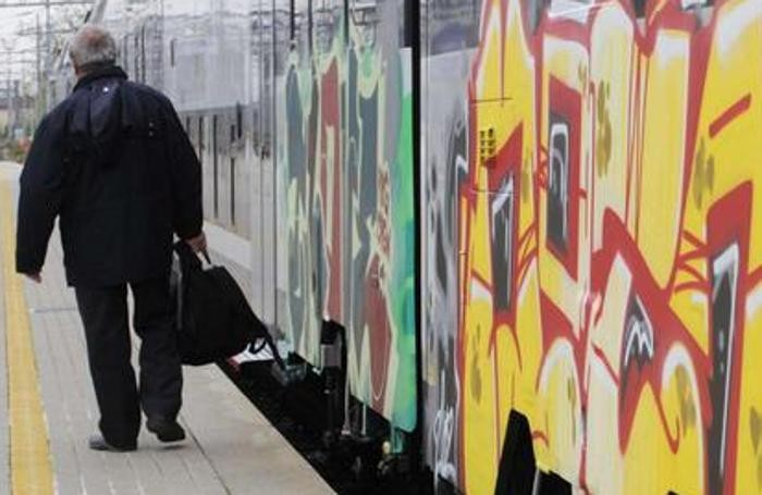 Scritte sui treni