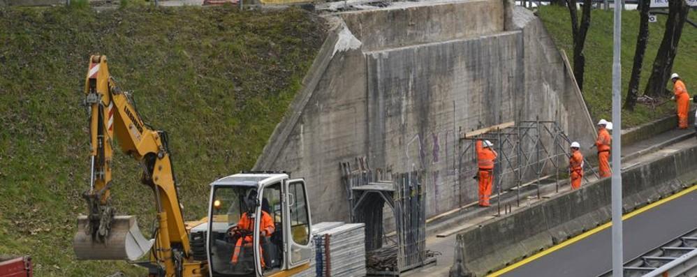 Al via i lavori al ponte di Monterosso Brembilla: 100 giorni? Non è il Giappone