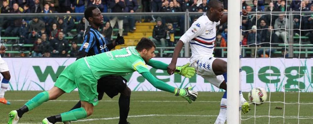 Atalanta, è il quarto ko consecutivo La Sampdoria vince 2-1 al Comunale