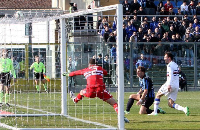 Il gol di Stendardo