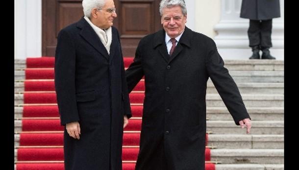 Gauck, bene velocità riforme Italia