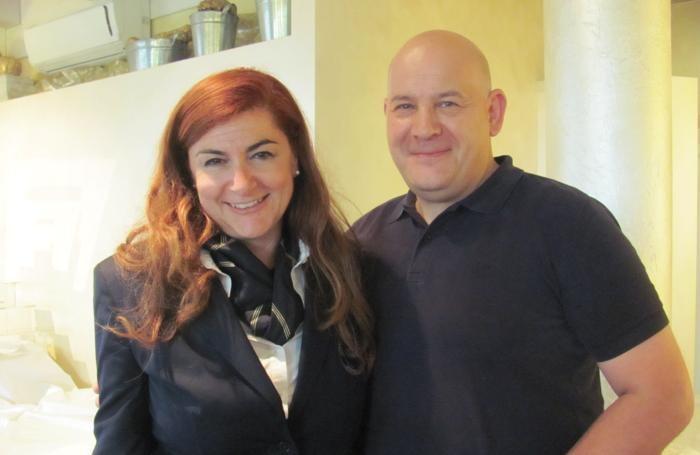 Roberta Agnelli, nuova delegata Ais Bg, con Luca Castelletti