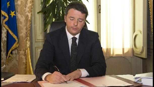 Renzi, più 130mila posti lavoro nel 2014