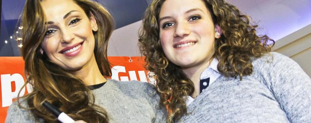 Tatangelo da Sanremo a Curno «Ragazzi, credete nei vostri obiettivi»