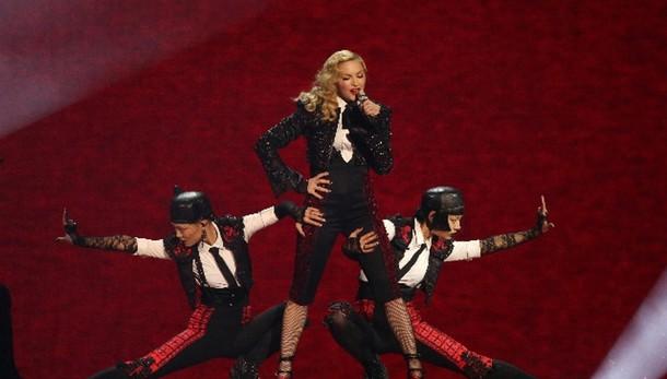Tour Madonna,Torino unica tappa italiana