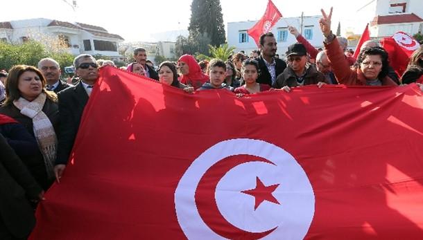 A Tunisi manifestazione contro terrore