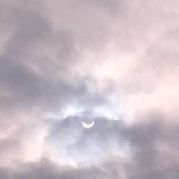 Eclissi dalla Roncola di Treviolo