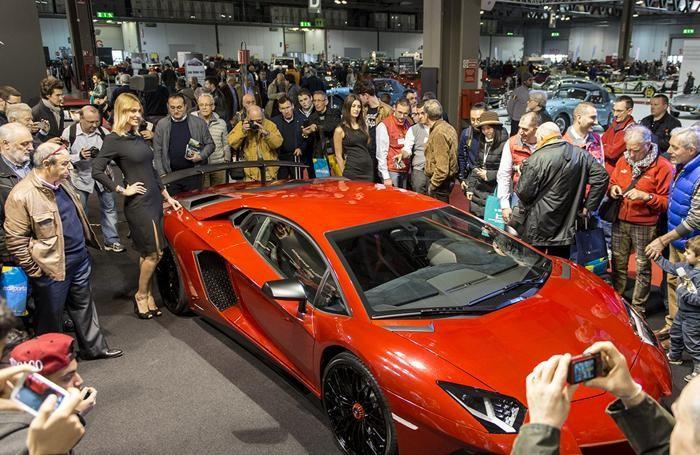 Lamborghini superstar ad Autoclassica