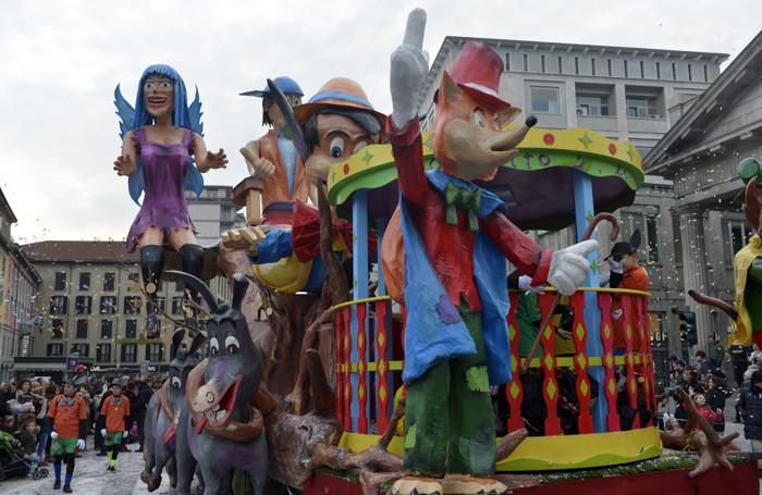 Geppetto 2.0, il carro che ha vinto l'edizione 2015