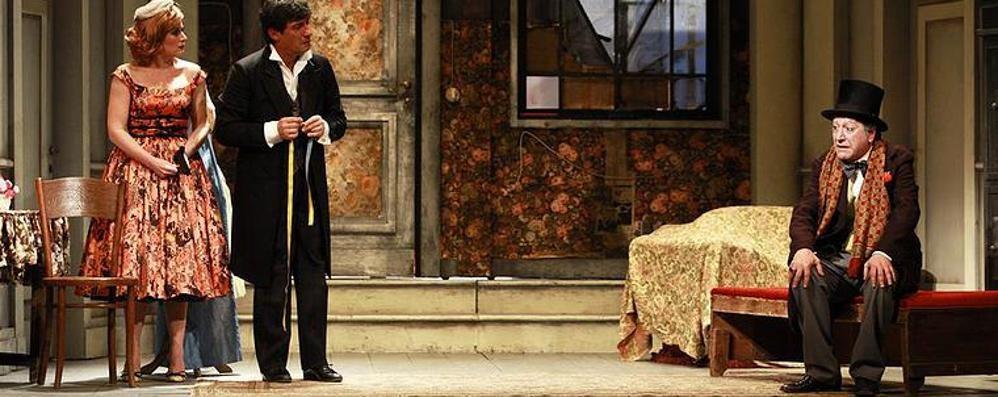 Al Donizetti c'è «Sarto per signora» Con Feydeau la risata è graffiante