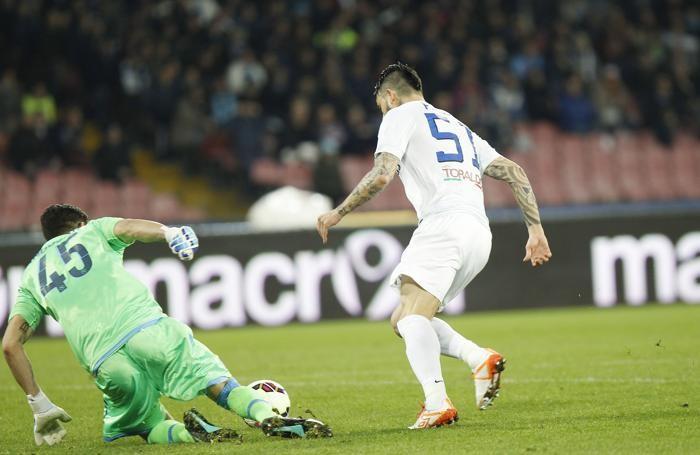 Il gol di Pinilla