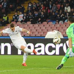 La palla-gol fallita da  Gomez