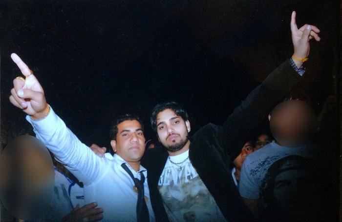 I fratelli indiani Baldev Kumar e Vicky Vicky