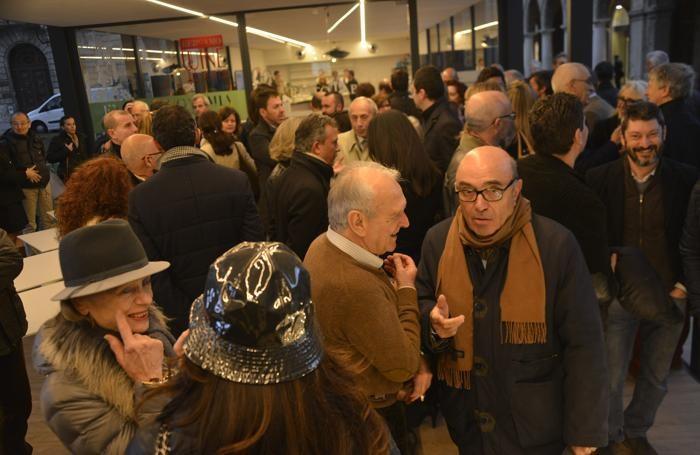L'inaugurazione della Domus Bergamo