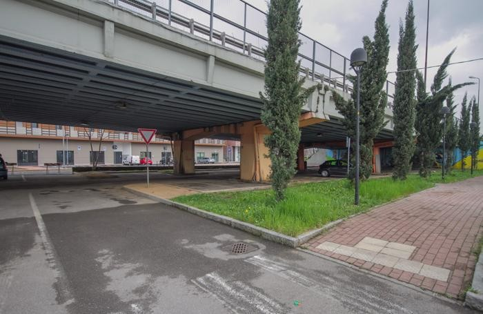 Il viadotto di Boccaleone