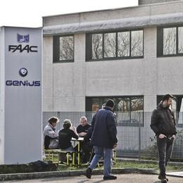 Faac Grassobbio, il futuro è nero: «L'azienda rigida, vuole chiudere»