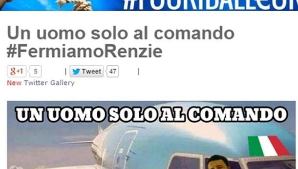 Renzi a Grillo, non speculare su morti