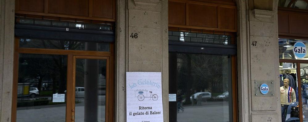 «Ritorna il gelato al Balzer» Dal 10 aprile all'ex Stelio Camicie