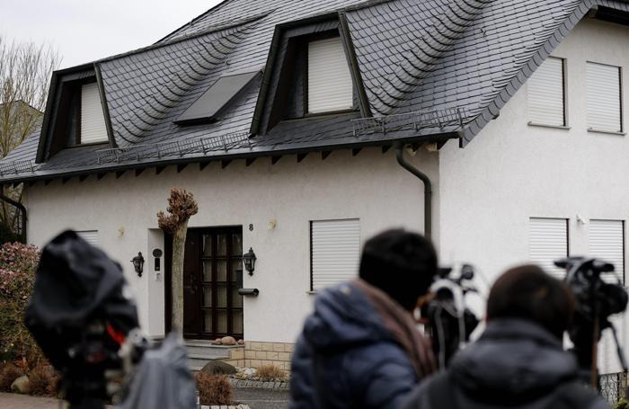 La casa della famiglia di Andreas Lubitz a  Montabaur, in Germania