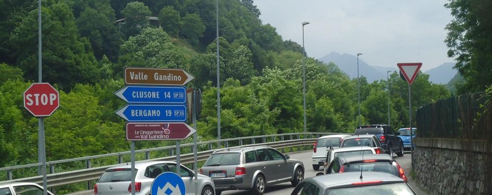 Val Gandino, chiusura prorogata Disagi in vista fino al 1° aprile