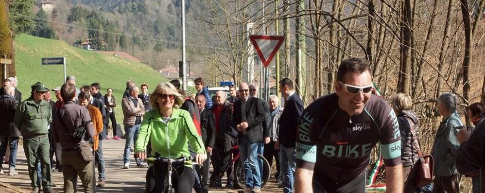 Clusone, nuova pista ciclopedonale Ora manca il tratto Villa d'Ogna - Gromo