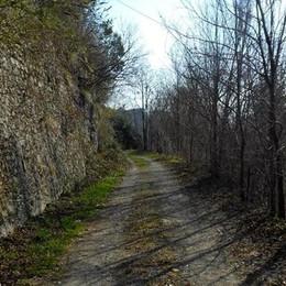 Da Fornaci di Villa d'Almè in direzione della stazione
