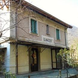 La stazione di Clanezzo