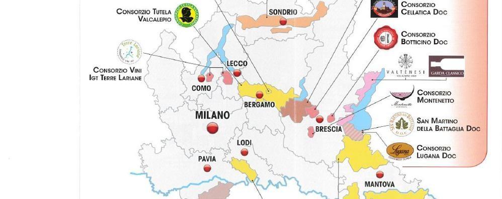 Vinitaly: in Lombardia export da record  Il padiglione intitolato a Luigi Veronelli