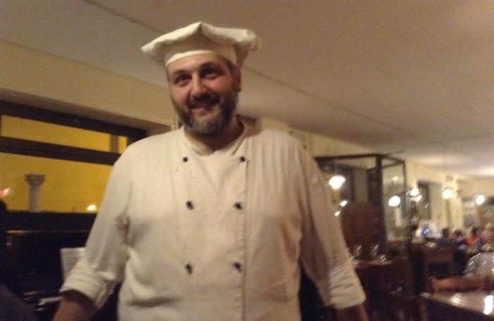 Lo chef Luca Federico Palma