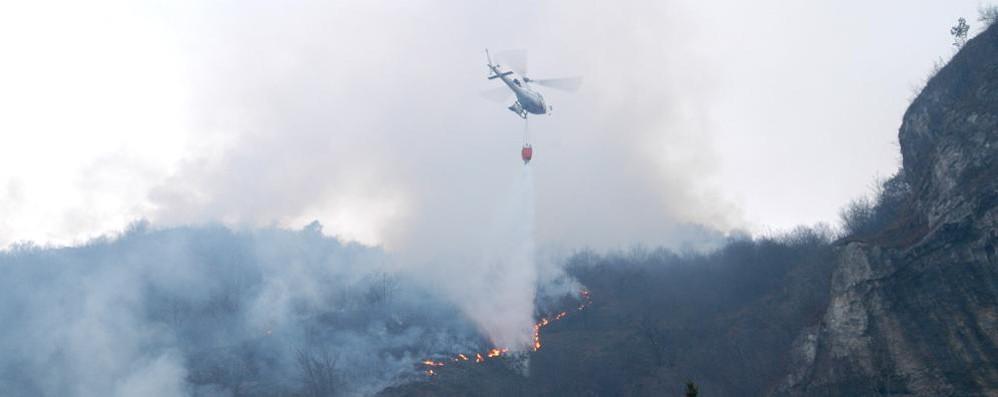 Aria secca in arrivo dal Nord: attenti ai boschi, rischio di incendi