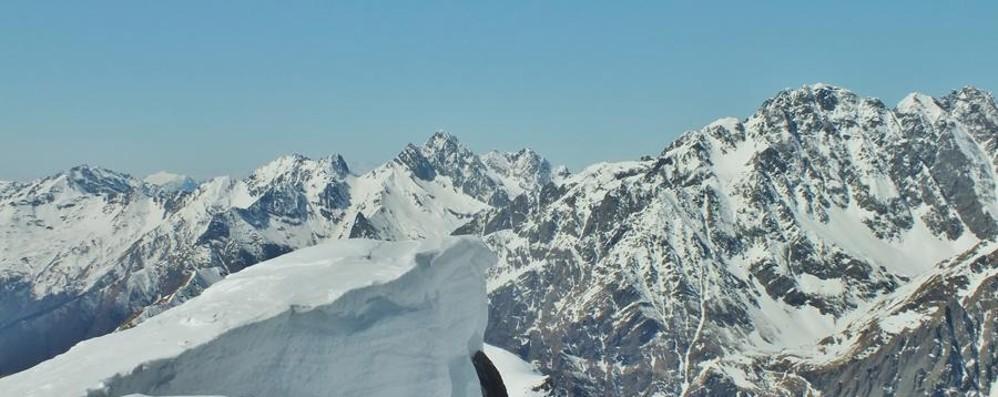 Che belle le nostre montagne Vento e sole al Pizzo Tre Confini