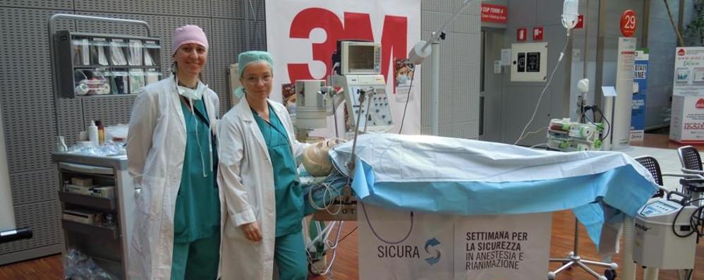 Cosa fa l'anestesista? La risposta è «Sicura»