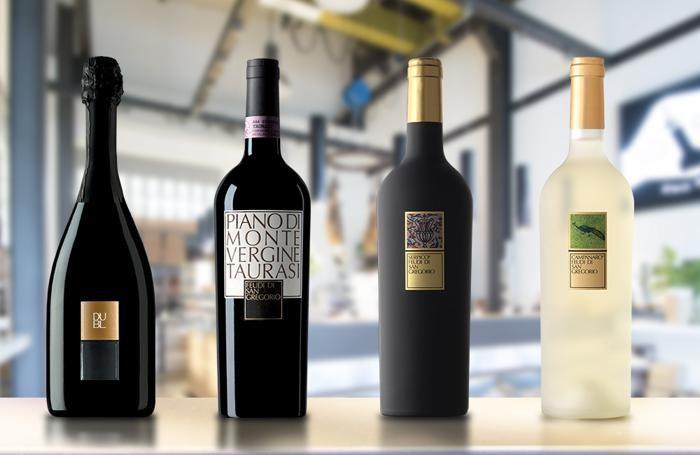 Alcuni vini de «I Feudi di San Gregorio»