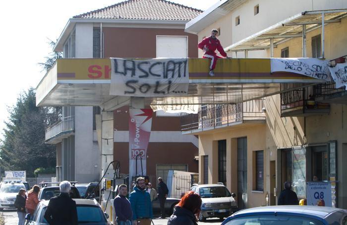 La protesta di Giuseppe Effendi