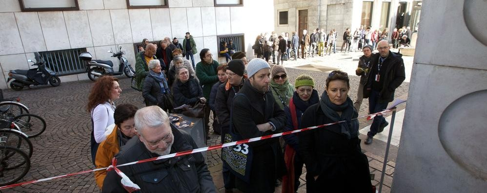 Bergamo Film Meeting, dica 33 Tutti in coda per il via alla rassegna
