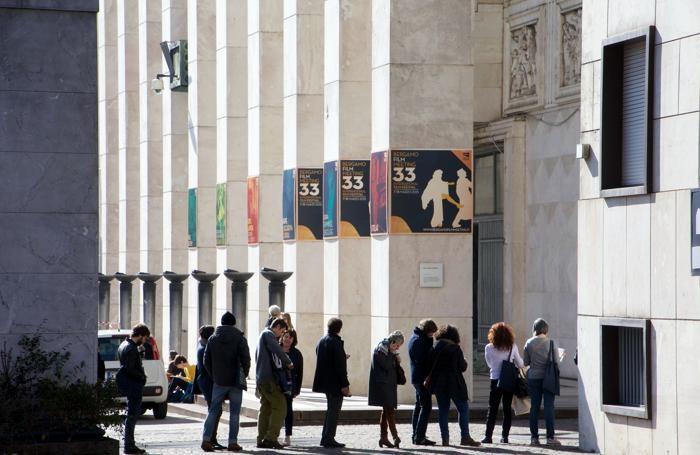 La coda al Bergamo Film Meeting