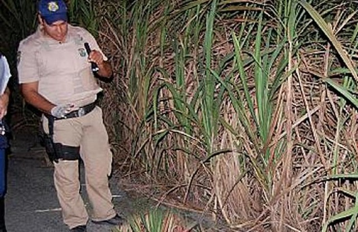 La polizia brasiliana sul luogo dell'omicidio di Roberto Puppo
